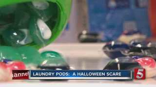 Laundry Pods: A Halloween Scare