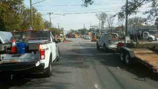 Roads Reopen After Gas Leak In Murfreesboro