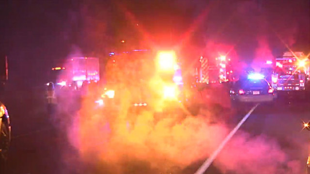 Fiery Semi Crash Blocks I-65N In Millersville