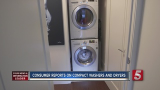 Compact Washers, Dryers Tested