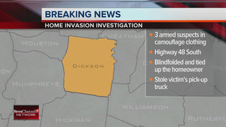 Suspects Sought In Dickson Home Invasion