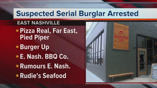 Police Arrest Suspect In Rash Of Burglaries