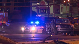 Driver Slams Into Power Poles In Donelson