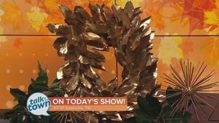 KariAnne Wood's DIY Magnolia Wreath