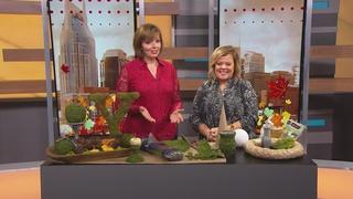Thanksgiving Decor Idea: Moss Topiary