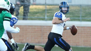 MTSU QB Out For Season With Shoulder Injury