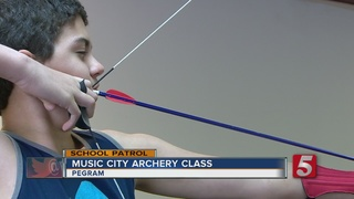 School Patrol: Music City Archery Class