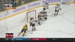 Neal, Rinne Lead Predators To 5-0 Win Over Ducks