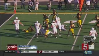 Missouri Beats Vanderbilt, 26-17