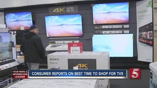 Find Out The Best Time To Shop For TV's