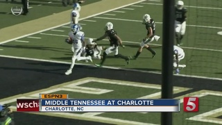 Middle Tennessee Beats Charlotte