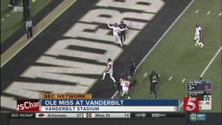 Vanderbilt Routs Ole Miss 38-17
