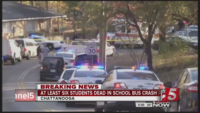 Chattanooga Police: 6th Child Dies from Injuries in School Bus Crash