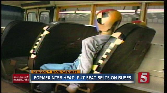 Washington lawmaker wants seat belts in school buses