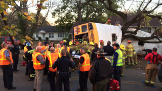 NTSB Releases School Bus Crash Report