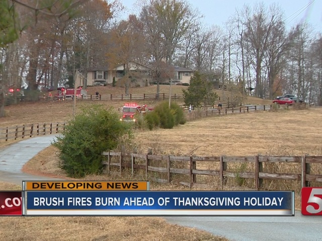 Middle TN Fights Brush Fires Ahead Of Thanksgiving ...