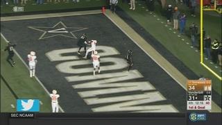 Vanderbilt Upsets No. 24 Tennessee, 45-34