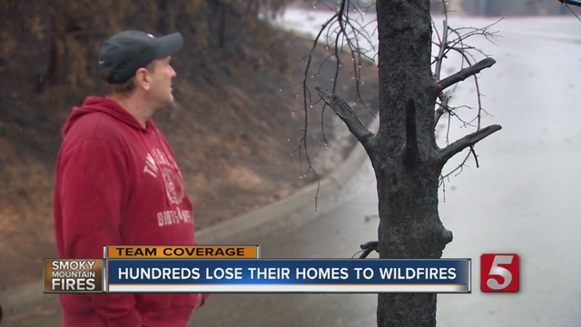 Thousands anxious to return following wildfires
