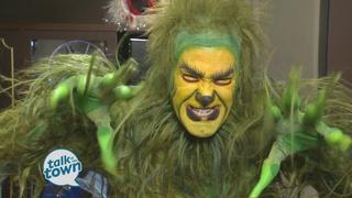 Actor Transforms Into the Grinch