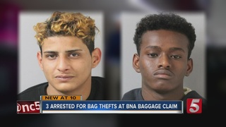 3 Arrested For Stealing Bags At BNA