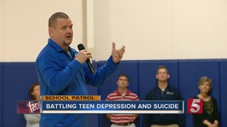 Man Shares Story Of Hope To Prevent Suicides