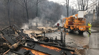 13 Dead, 11 ID'd In Sevier County Wildfires