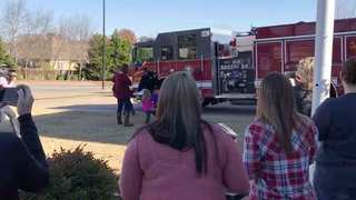 Spring Hill Firefighters Return Home