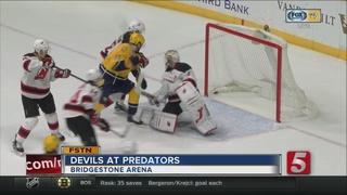 Devils Beat Predators In OT