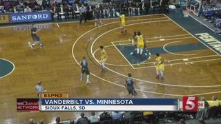 Minnesota Holds Off Vanderbilt In 56-52 Win