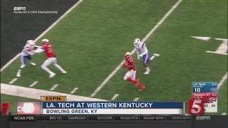 WKU Wins C-USA 58-44 Over Louisiana Tech