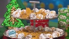 Christmas Cashew Brittle and Apricot Snowballs