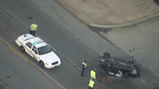 1 Killed In Single-Car Crash In Clarksville