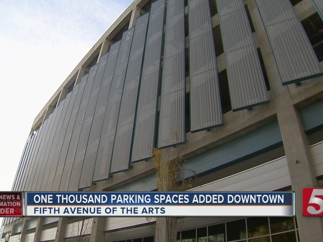 5th Avenue Parking Garage Opens In Nashville
