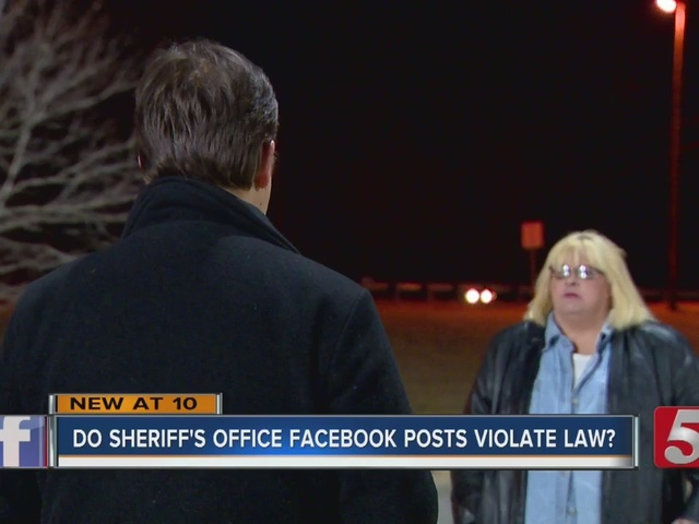 Do Sheriff's Office Posts Break Medical Records Privacy Laws?