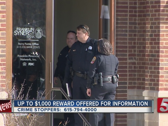 Police Investigate Attempted Bank Robbery