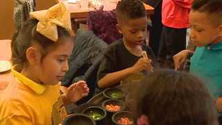 Schools Get Cooking Class As Special Treat
