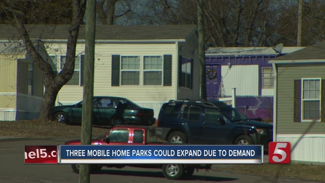 Proposed Expansion Of Mobile Home Parks Tied To Demand For Affordable Housing