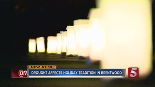 Drought Conditions Affect Holiday Event