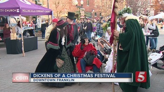 32nd 'Dickens Of A Christmas' Held In Franklin