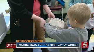 School Patrol: Snow Bubbles At Family Lab