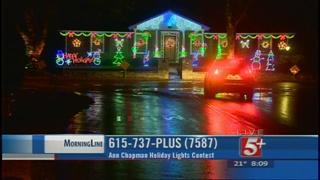 MorningLine: Ann Chapman Holiday Lights Contest