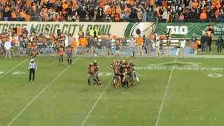 Vols Take The Win In The Music City Bowl