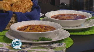 Tomato Basil Soup and Chicken Tortilla Soup