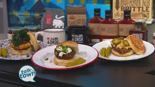 Holler & Dash's Kickback Chicken Biscuit