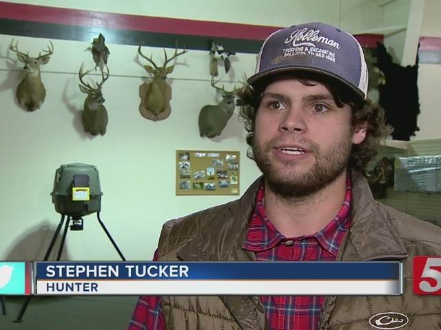 Hunter Talks About Record-Breaking Buck
