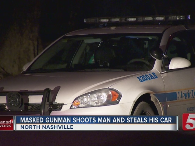 Car Theft Victim Robbed, Shot In Legs