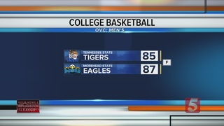 Morehead St. Beats Tennessee St. 87-85