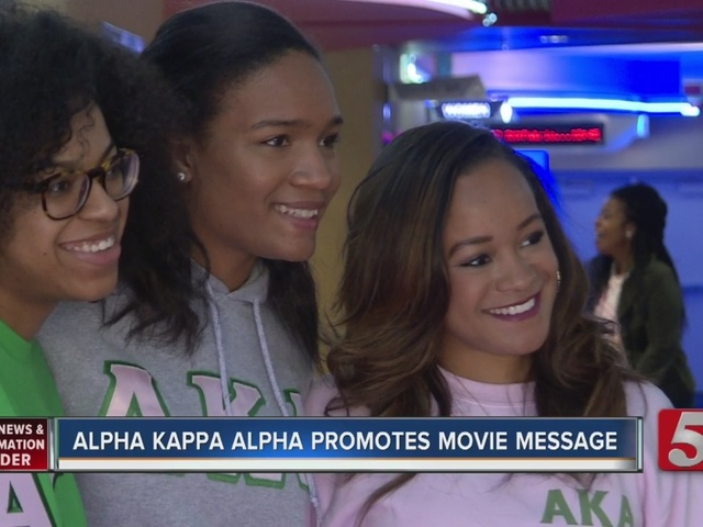 Box Office Winner Promotes Sorority's Message