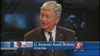 Inside Politics: Lt.Governor Randy McNally