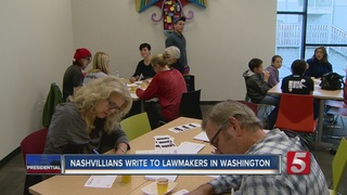 Citizens Write Letters To State Leaders In D.C.
